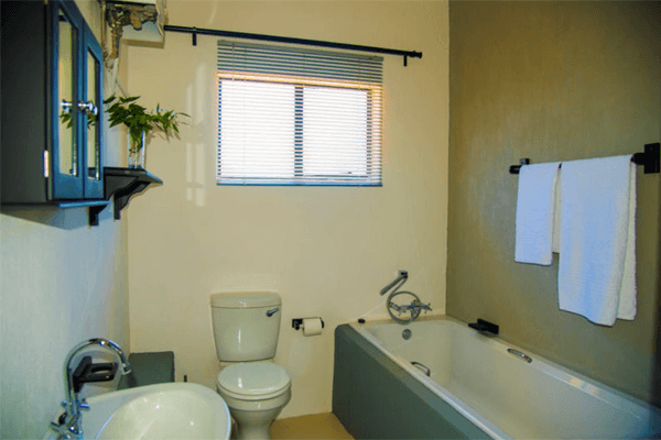 Bathroom at Route 40 Self Catering