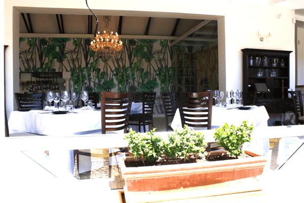 Forage at Wildekrans Restaurant in Botrivier