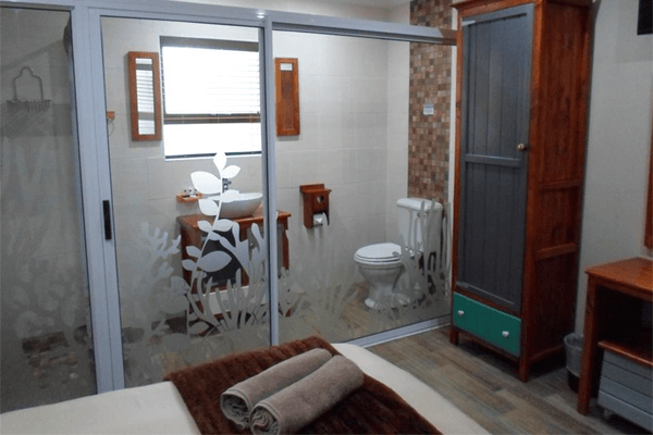Bathroom at The Breede River Resort & Fishing Lodge