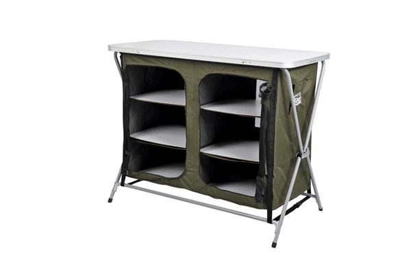 Campmaster 6 Shelf Camp Cupboard